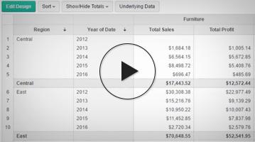 Cómo crear un resumen y una vista de pivote usando Analytics Plus