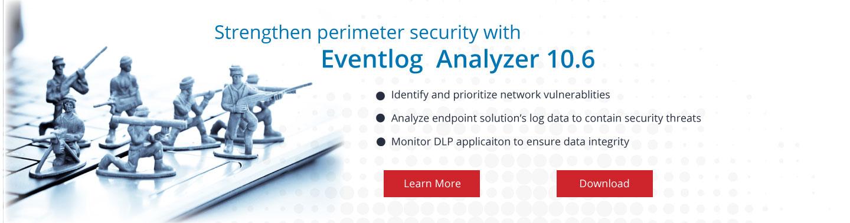 EventLog Analyzer v10.6