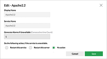 Monitorear del servidor de windows - ManageEngine OpManager